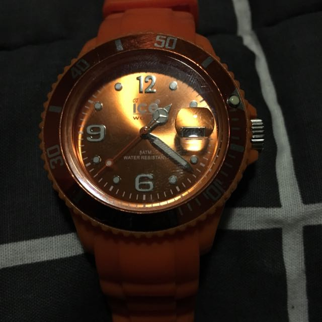 Orange Ice Watch