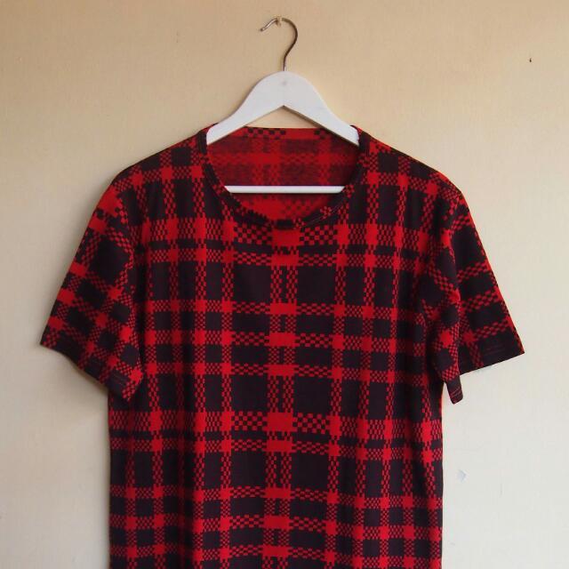 Pixelated Checker T-shirt