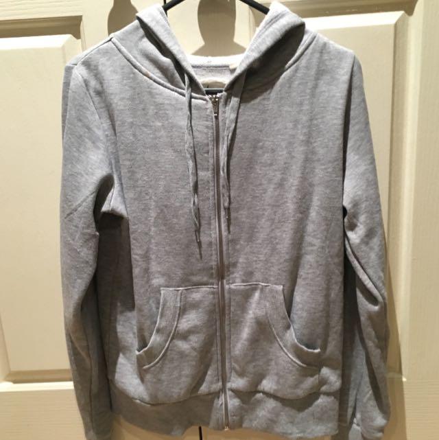 Plain Grey Jacket