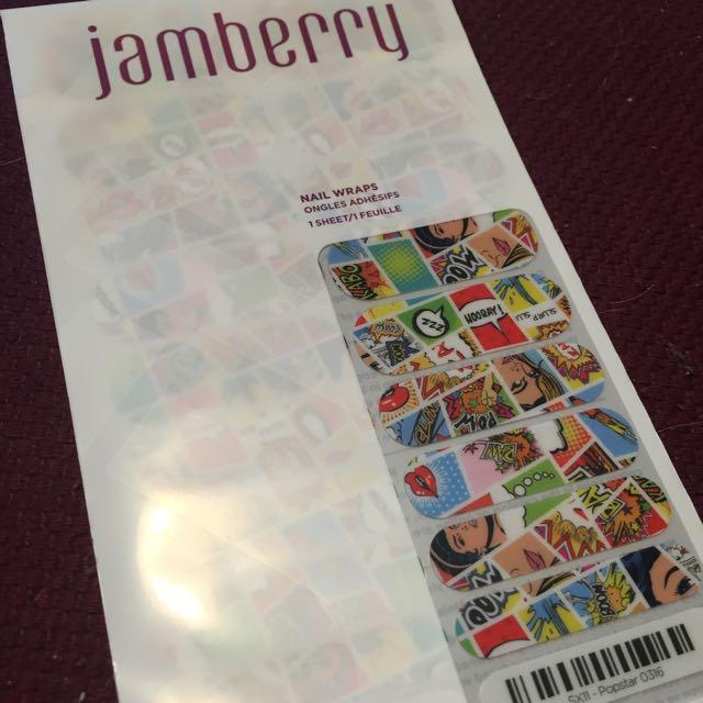 Retired Jamberry Nail Wraps