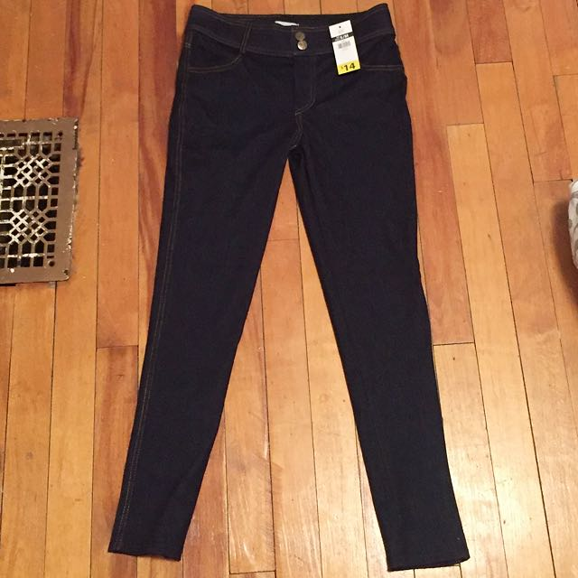 Size S/M Dark Wash Jeggings