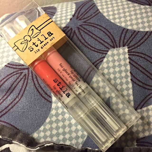 Stila 2 Lip glosses
