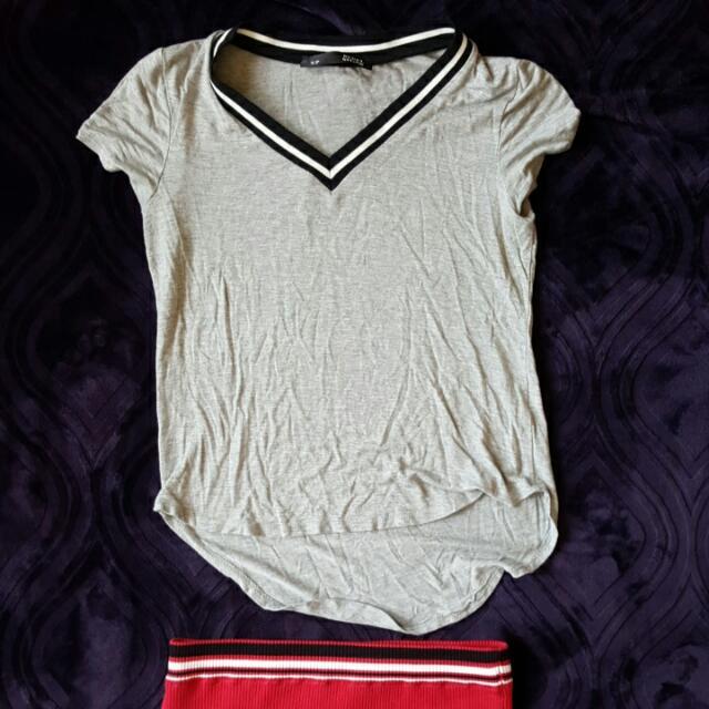 T-shirt & Skirt Combo