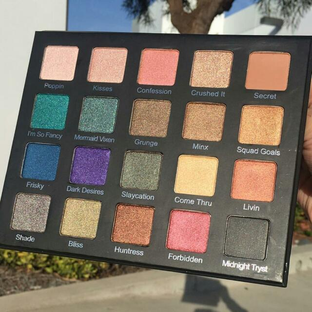 Violet Voss Drenched Metals Eyeshadow Palette.