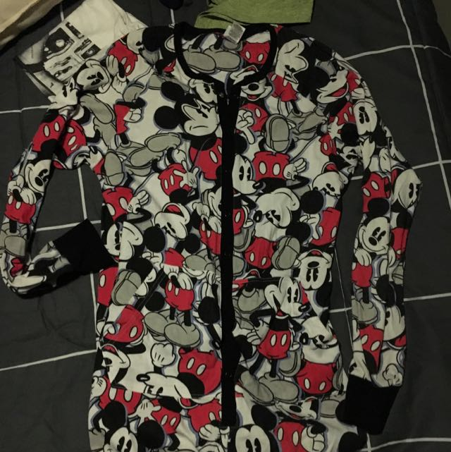 XS Mickey Mouse Onesie