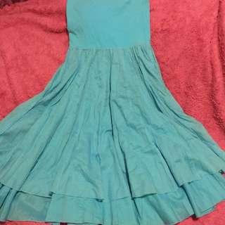 Flowy Sky Blue Dress