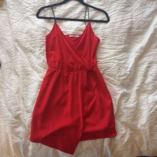 Red Luck And Trouble Dress