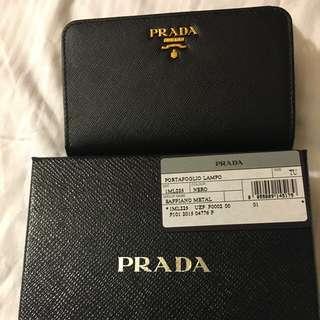 Brand New PRADA Saffiano Leather Wallet