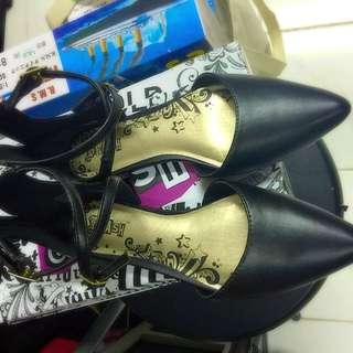 Brash Black Shoes