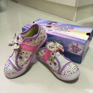 Skechers Light Up Sneakers For Kids Size 10