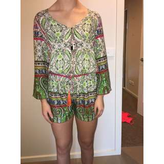 multicoloured playsuit