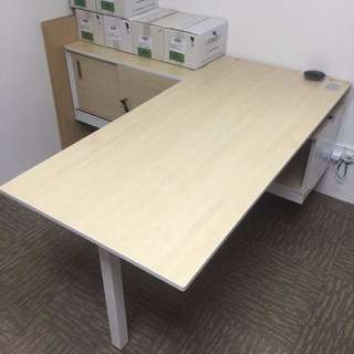 L Shape Director Table (Office/ House Usage)
