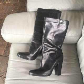 Black Nine West Boots