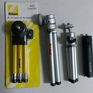 Mini Tripods For Compact Cameras Or Pico Projectors