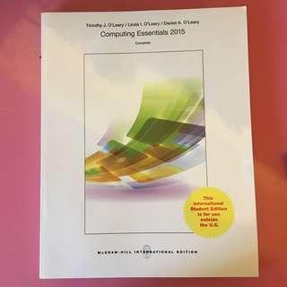 計算機概論 Computing Essentials 2015