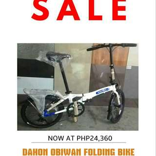 Dahon Obiwan Folding Bike