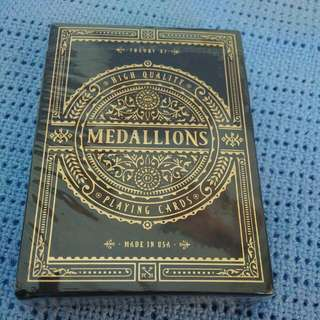 Theory 11 Medallions Playing Cards