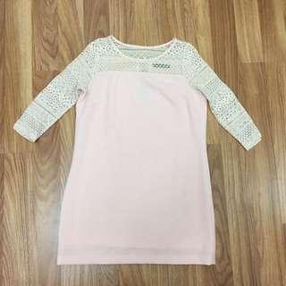 Pink Pastel Tunic Dress