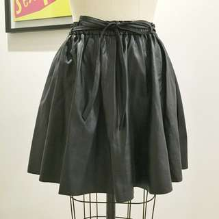 Zimmermann Genuine Leather Skirt