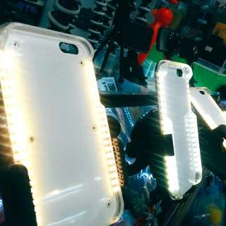 Led Light On The Phone Case And Selfie Case