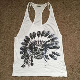 Kookai White Tank Top