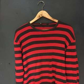 Sweater Bossini Stripe Murah