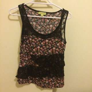 Lacy Top Size 8