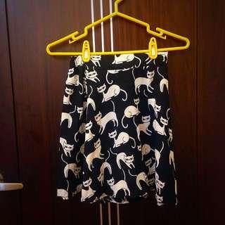 一件很多🐈的短裙