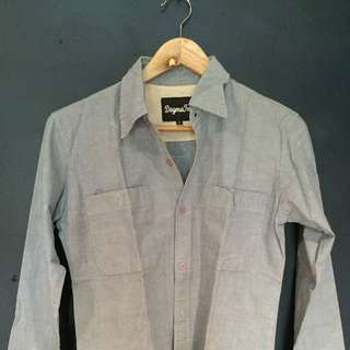 Dogma Inc Chambray Shirt Size S