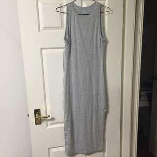 KOOKAI GREY BODYCON Midi Dress