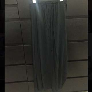 Black Maxi Skirt From Ally