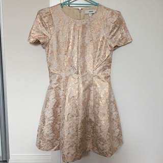 Cameo Rose Gold Dress