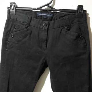 French Connection size 8 black pants