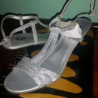 Womans Silver Shoes Brand New