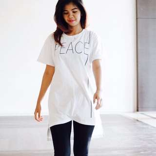 T-Shirt Oversize Hi-low
