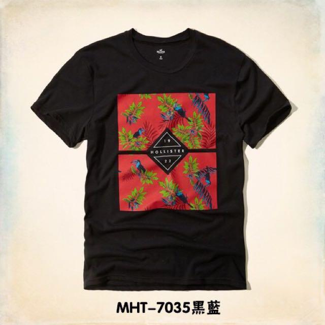 2016新款 HOLLISTER T恤