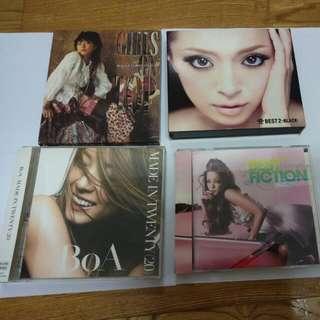 濱崎步,安室奈美惠,寶兒CD