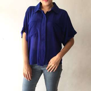 Magnolia Electric Blue Shirt