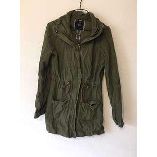 Cotton On Anorak Jacket Khaki