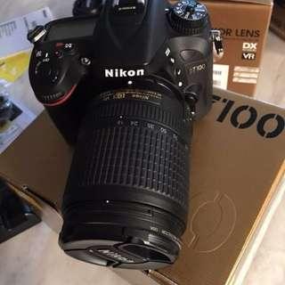 NIKON D7100 24.1 MP DIGITAL SLR CAMERA - BLACK (KIT W/ AF-S DX 18-140MM 50MM 1.8