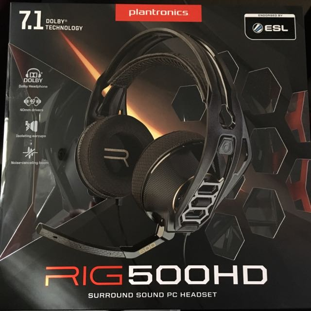 7.1 Dolby Surround Sound Gaming Headset