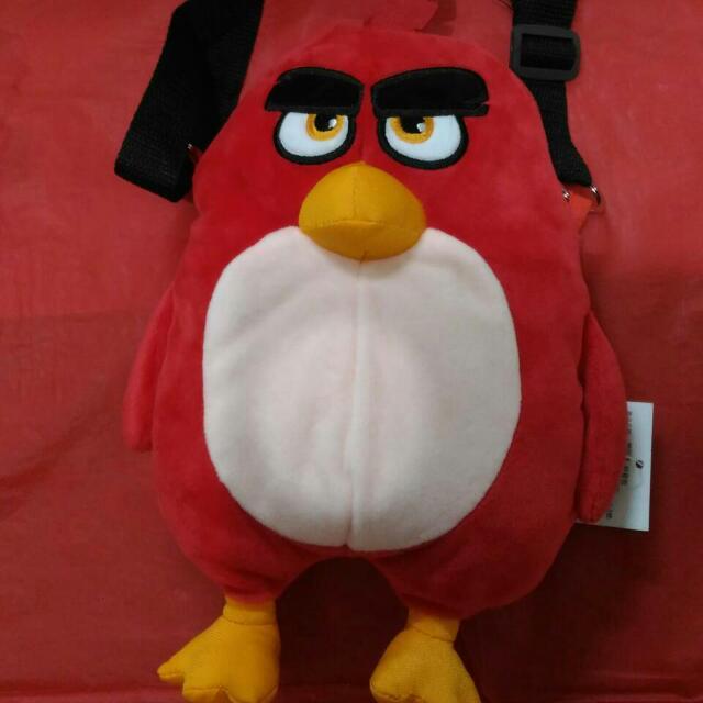 憤怒鳥側背包