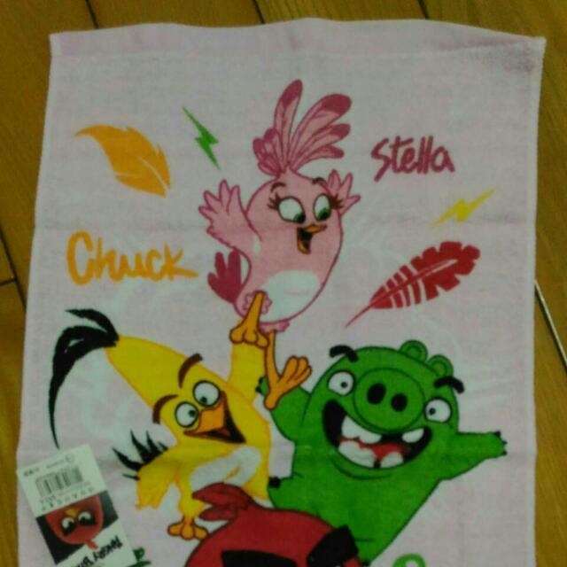 憤怒鳥毛巾