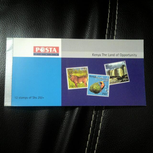 全新 肯亞郵票收藏
