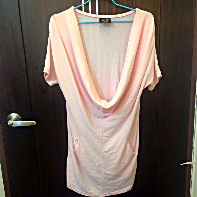 垂墜感❤️連身針織罩裙
