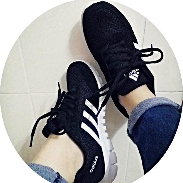韓版時尚三條槓運動慢跑鞋