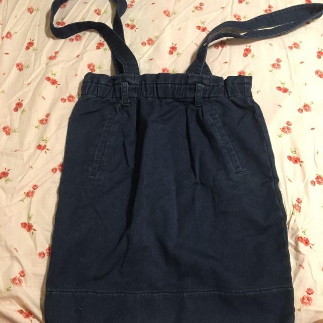 牛仔包裙、吊帶裙(免運)