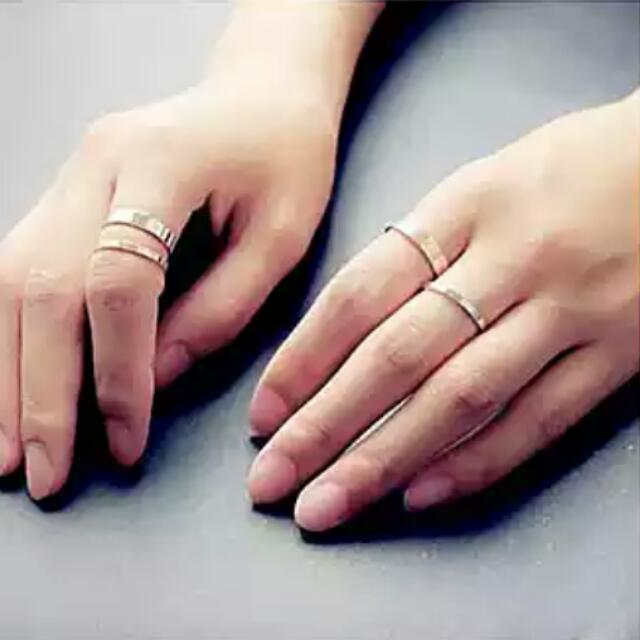 金色/銀色 氣質 戒指