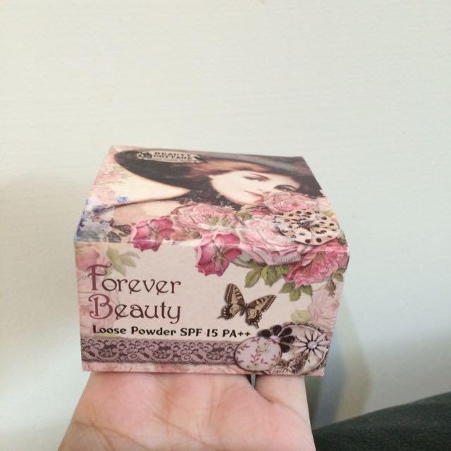 全新購自泰國_Beauty Cottage 經典防曬碎粉 Forever Beauty Loose Powder SPF 15 PA++