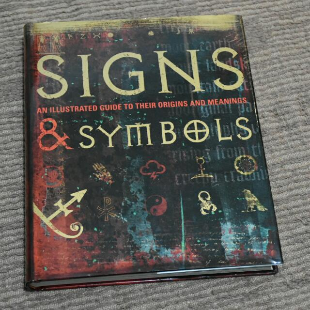 signs symbols an illustrated guide to their origins and rh sg carousell com signs and symbols an illustrated guide to their origins and meanings pdf Book Illustrated Guides